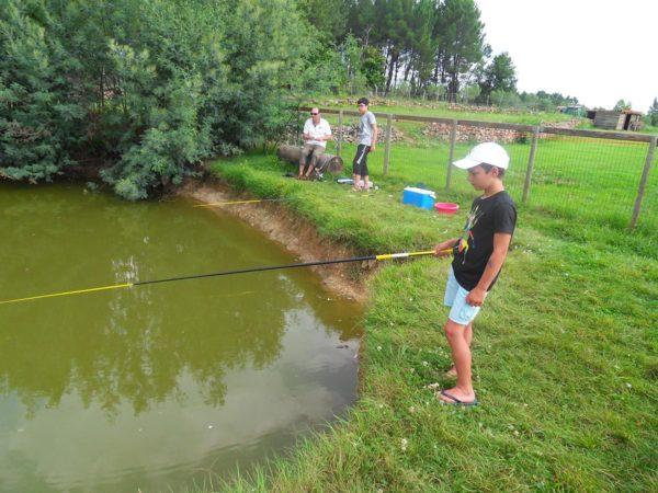 Kleiner Teich zum Angeln