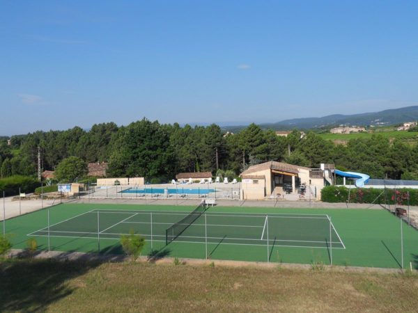 Tennis at the holiday village